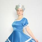 Русский народный жен синий