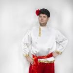 Русский народный (белая рубашка)