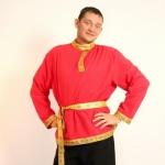 Русский народный костюм (Красный)
