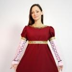 Платье Ампир(бордо)
