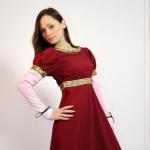 Платье Ампир бордо