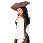 Пиратка коричневая