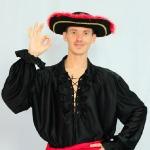 Пират черный