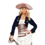 Пиратка (белая)