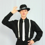 Гангстер (черная рубашка)