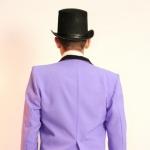 Фрак фиолетовый