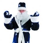 Дед Мороз (мех синий)