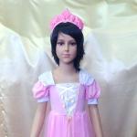 Принцесса розовая