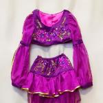 Восточный для девочки фиолетовый.