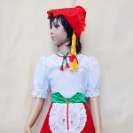 Красная шапочка для девочки