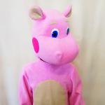 Розовый бегемот