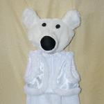 Белый медведь для мальчика