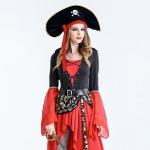 Пиратка красная с черным. Продажа