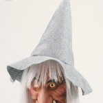 Ведьма серая маска