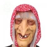 Баба Яга (цветной платок)