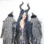 Крылья черные