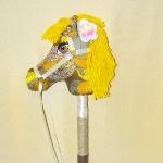 Конь на палочке
